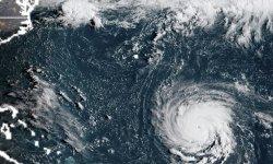 Le 12.09.2018:La population fuit la cote est américaine menacée par l'ouragan Florence