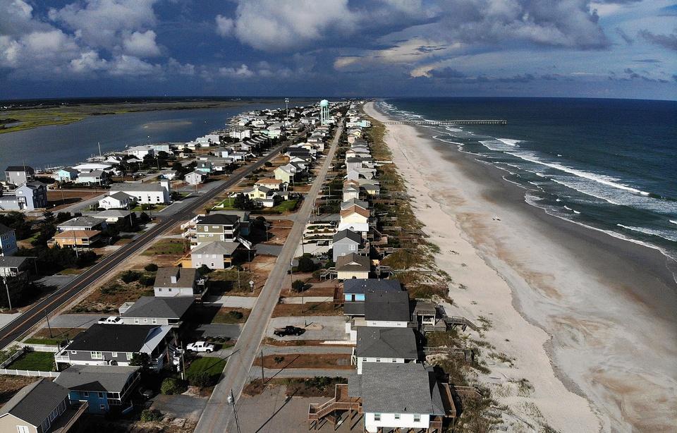 Le 12.09.2018:Ouragan Florence: La côte Est des Etats-Unis se prépare au pire