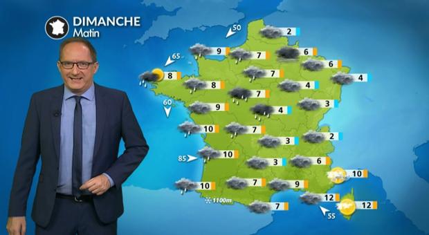 Bulletin meteo france j1 g